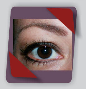 permanent make-up eye